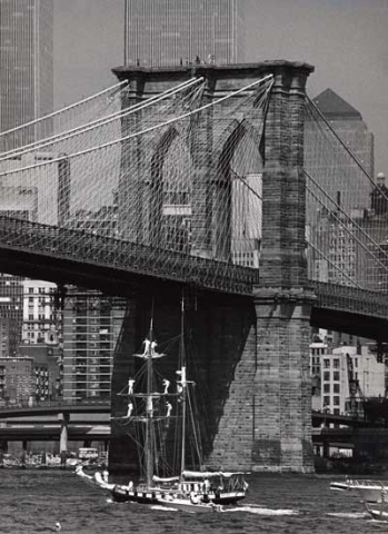 George Forss, black and white silver gelatin print, 1983