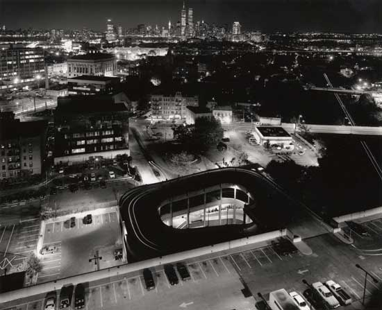 George Forss, Close Encounter/NY From Journal Square, 1995