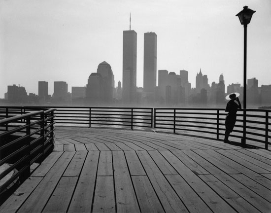 George Forss, black and white silver gelatin print, 1988