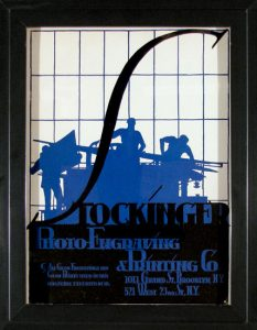 Stockinger/Brooklyn, screen print/board, c.1945
