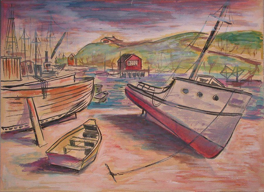 Cape Cod, Provincetown, boats,