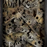 Leon Bibel Nonworking Machine
