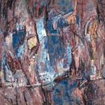 Leon Bibel Study in Violet & Blue