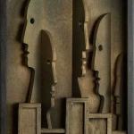 Leon Bibel The Pedestals