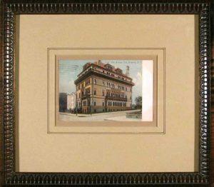 Montauk Club;  Brooklyn; vintage postcard; c.1906