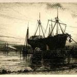 Henry Farrer, Sunset, Gowanus Bay