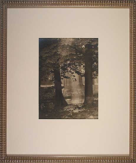 Bois de Vincennes, antique photograph