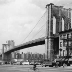 George Forss Brooklyn Bridge From Front Street