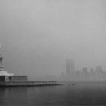 George Forss Statue of Liberty/City in Fog