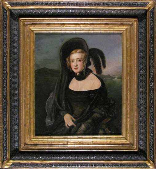 Portrait of a Woman, formerly owned by the Adams Family