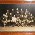 Rugby Team, vintage photograph