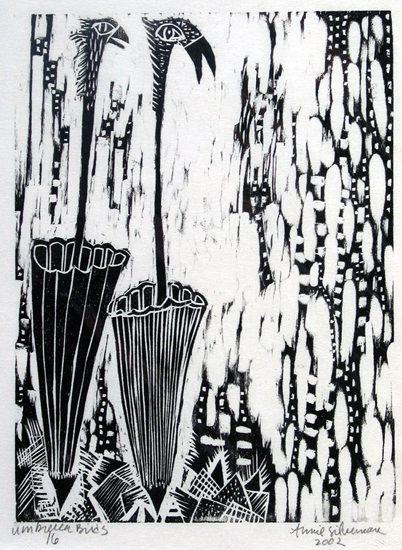 Annie Silverman Umbrella Birds 16
