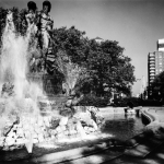 Grand Army Plaza, fountain, Prospect Park