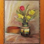 Still Life with Pottery / Grace Haggerty