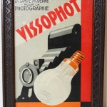 Vissophot French Camera Store Sign