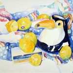 More Lemons Hazel Jarvis watercolor