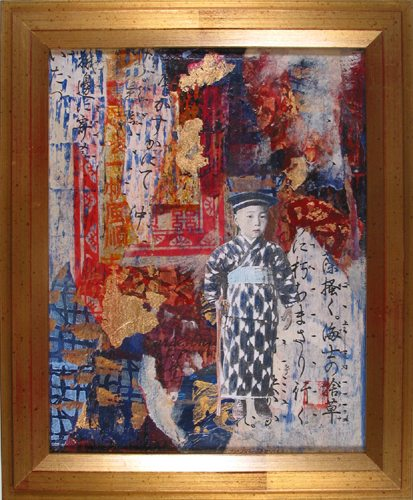 Japanese Memories; Hazel Jarvis; mixed media; 2005