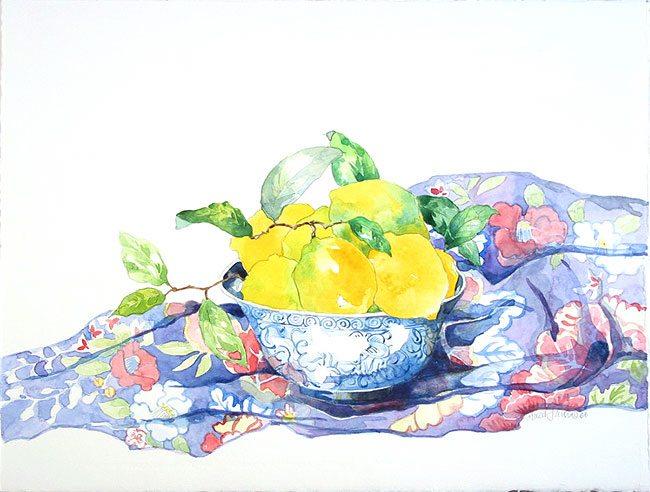 Chinese Bowl/Lemons