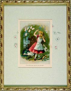 Alice in Wonderland 1903; The Playing Cards; Tenniel illustration