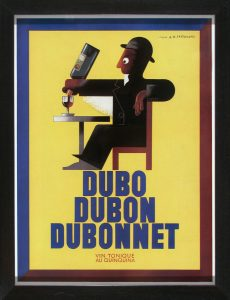 DuboDubonnet advertising page; 1937