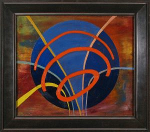 Emanations; Monack; oil on canvas; 1946