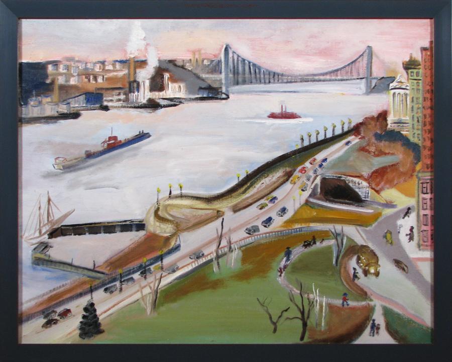 Hudson River, Upper West Side, Lillie Mayer, George Washington Bridge