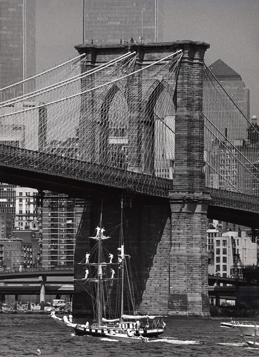 Op Sail, Brooklyn Bridge, Geoge Forss