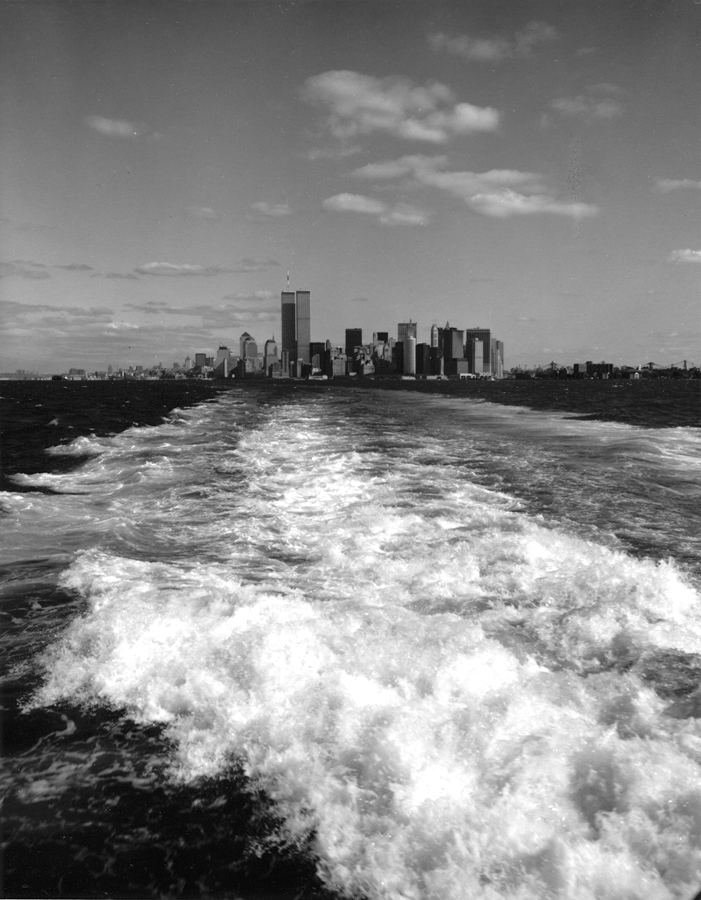 George Forss, Twin Towers, Staten Island Ferry