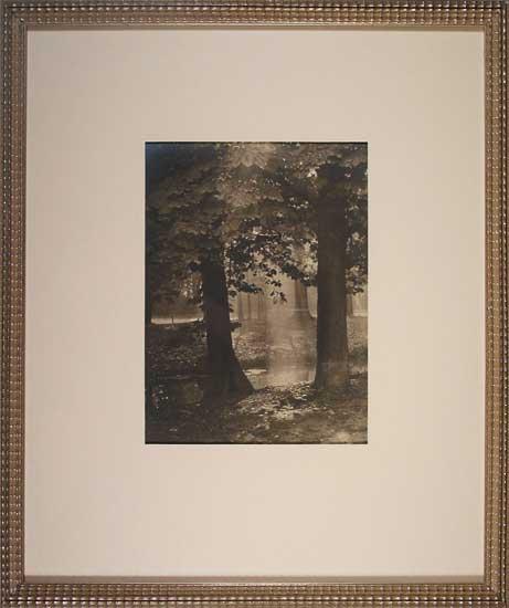 Bois de Vincennes, antique photograph