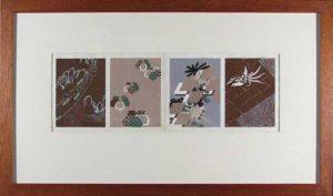 Designs for Kimono, Ukiyo-e Prints