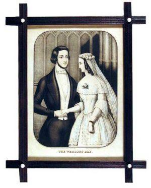 Kellogg and Comstock,  The Wedding Day