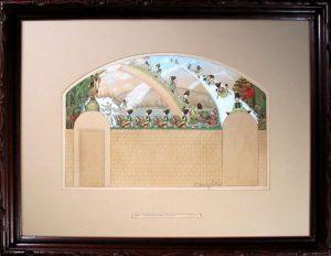 Design for Playhouse Mural, Eleanor Harrington