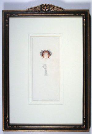 Headdress Portrait, Eleanor Harrington
