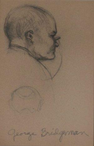 George Bridgman Portrait