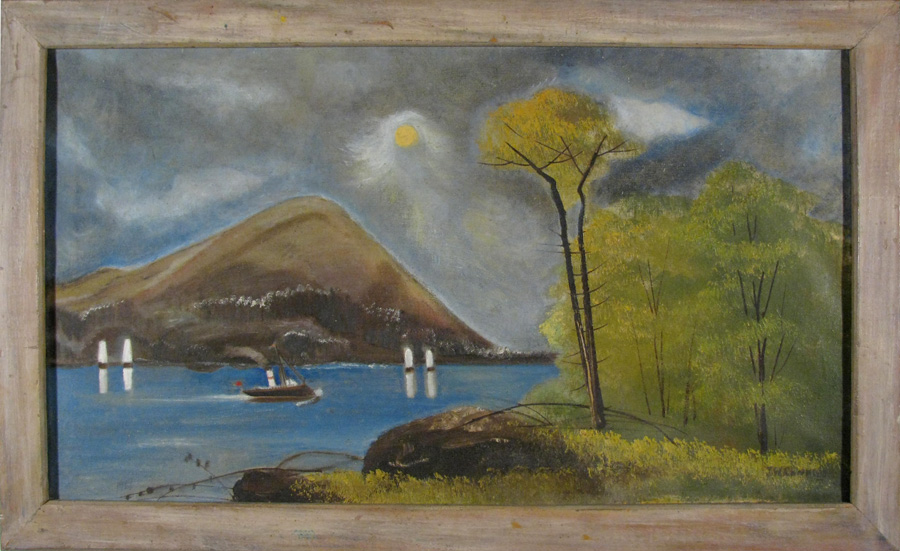 Hudson River, Moonlight Sailing