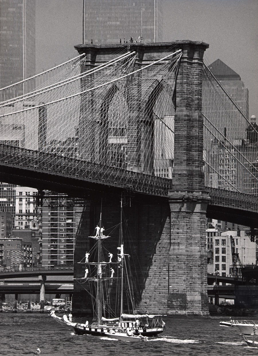 Op Sail, Brooklyn Bridge, Geoge Forss